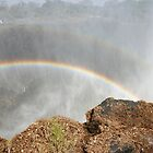 Rainbows Over Victoria Falls 1 by Mike Freedman