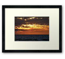 Nightcliff Twilight Framed Print