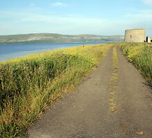 Finavarra Martello Tower by John Quinn