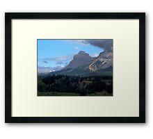 Crowsnest Pass Framed Print