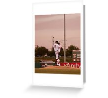 Giants Pitcher Barry Zito - Triple A Rehab Greeting Card
