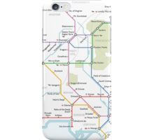 Middle Earth Transit Map iPhone Case/Skin