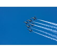 Blue Angels - Delta Formation Photographic Print