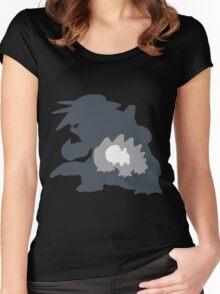 TheMetalDino Women's Fitted Scoop T-Shirt