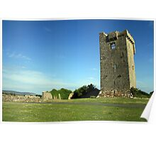 Muckinish castle Poster