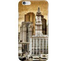 Boston Harbor iPhone Case/Skin