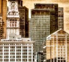Boston Harbor Sticker
