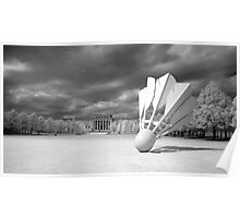 Nelson Atkins Museum Exterior, Infrared View, Kansas City, Missouri  Poster