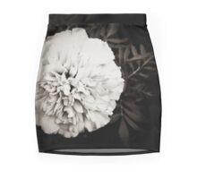 Single White Flower Mini Skirt