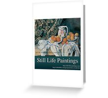 Still Life Paintings Avatar Greeting Card
