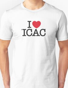 I ♥ #ICAC T-Shirt