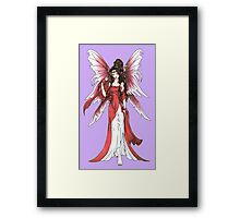 Garnet Fairy Framed Print