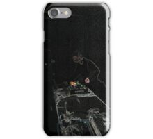 BLACK Electronic Underground #20 iPhone Case/Skin