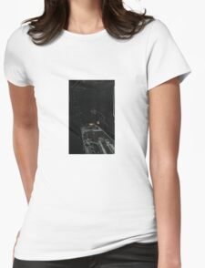 BLACK Electronic Underground #20 Womens Fitted T-Shirt