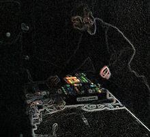 BLACK Electronic Underground #20 by DomaDART
