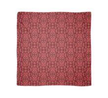 Burgundy + Red Slavinc Patterns Scarf
