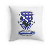 Currahee Patch & Combat Infantry Badge (CIB) Throw Pillow