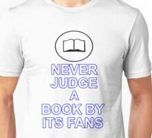 Never Judge A Book Unisex T-Shirt