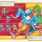 Ballroom Bonanza: Numbats nutbush, Orangutan's boogaloo by Nina Rycroft