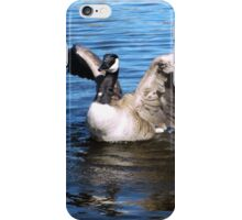 Canada Goose Spreading Her Wings iPhone Case/Skin