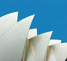 The Sails - Sydney Opera House, NSW Australia by Mark Richards