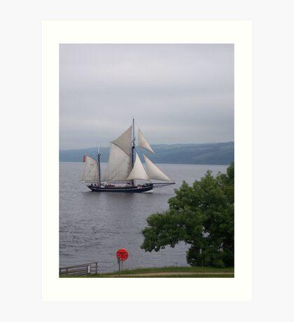 Sailing by Art Print
