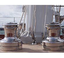 Clear the decks Photographic Print