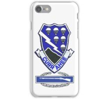 Currahee Patch & CIB - iPhone Case iPhone Case/Skin