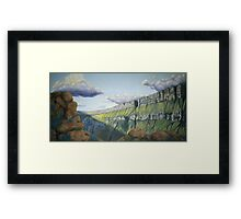 Century Plant Overlook Framed Print