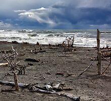 Hokitika Beach 1 by Charles Kosina
