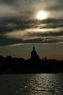 Kingston City Hall Silhouette by Allen Lucas