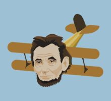 A is for Abraham Lincoln AIrplane by Thur