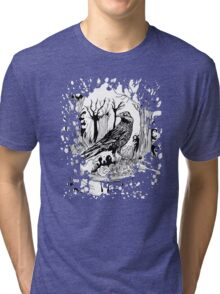 The Black Crow Tri-blend T-Shirt