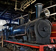 Steam Locomotive by KellyJo