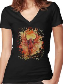 Phoenix Women's Fitted V-Neck T-Shirt