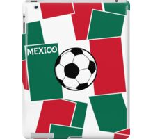 Flag of Mexico Football iPad Case/Skin