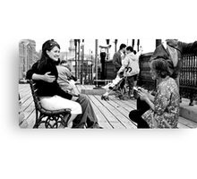 a picture of us Canvas Print