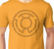 Yellow Lantern Oath (Black)  Unisex T-Shirt