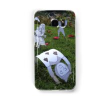Alice and the Croquet Game Samsung Galaxy Case/Skin