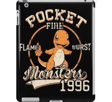 Flame Burst iPad Case/Skin