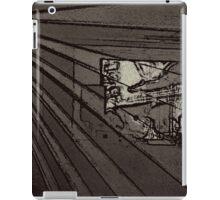 BLACK Electronic Underground #8 iPad Case/Skin