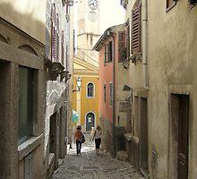 An old city by Dalmatinka