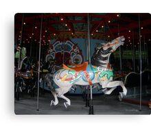 Central Park Carousel Horse Canvas Print