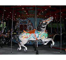 Central Park Carousel Horse Photographic Print