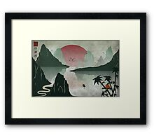 Two Of Seven Framed Print