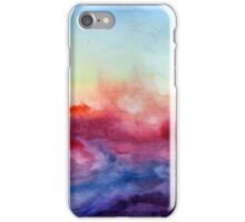 Arpeggi - Abstract Watercolor Ombre iPhone Case/Skin