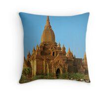 Memories of Bagan #3 Throw Pillow