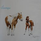 Chincoteague Pony ( For Kimbarose) by louisegreen