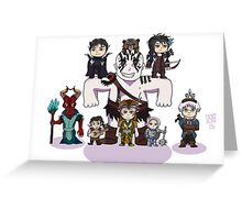 Little Vox Machina Greeting Card