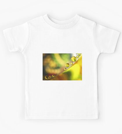 Abstract Colorful background Kids Tee